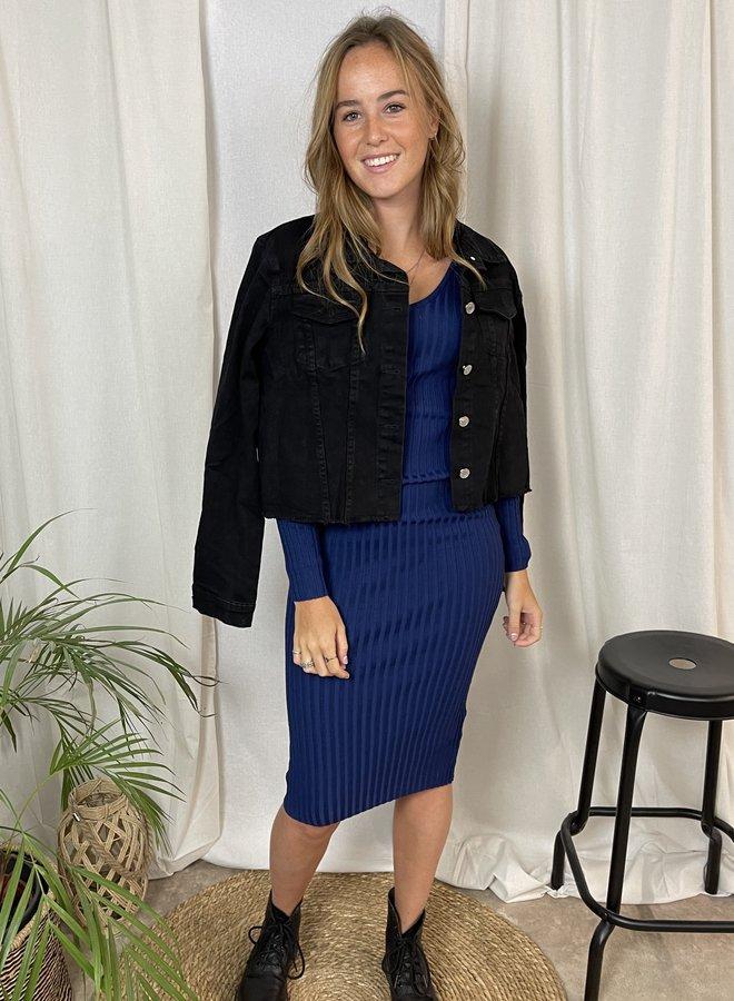 Felicia Bodycon Dress Blue