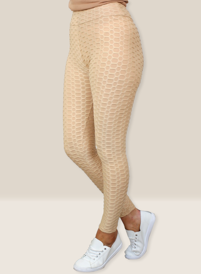 Shape Leggings Beige