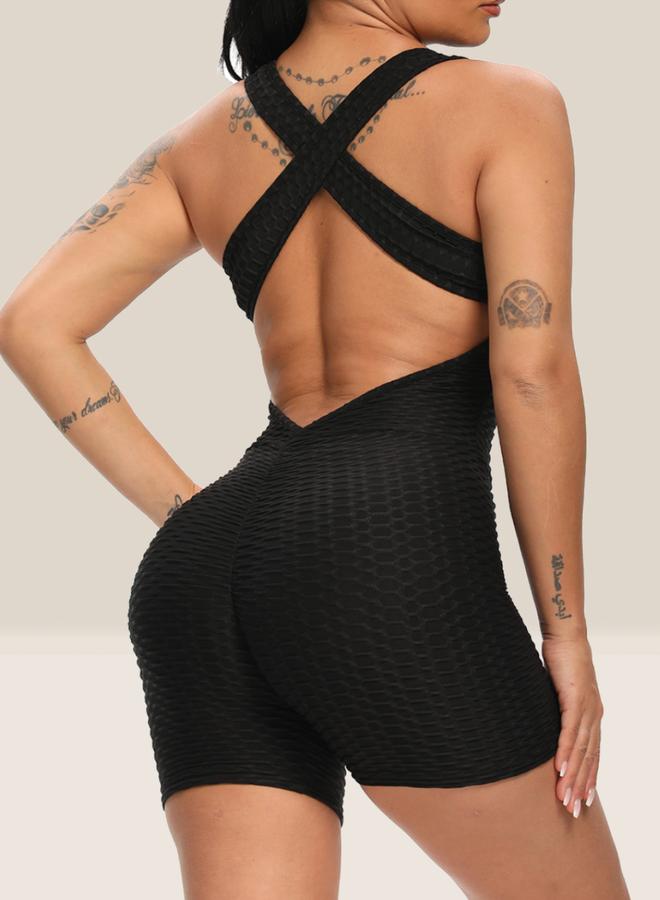 Shape Jumpsuit Black