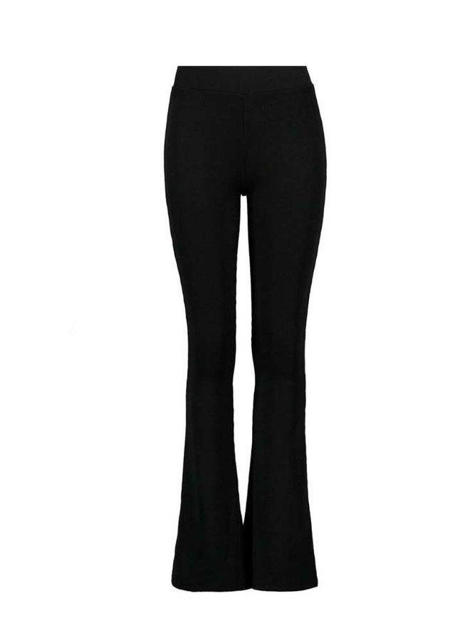 Basic Flared Legging - Zwart