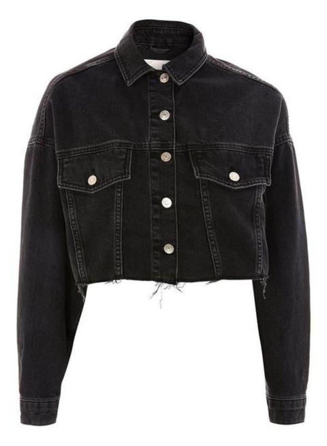 Novi Cropped Denim Jacket