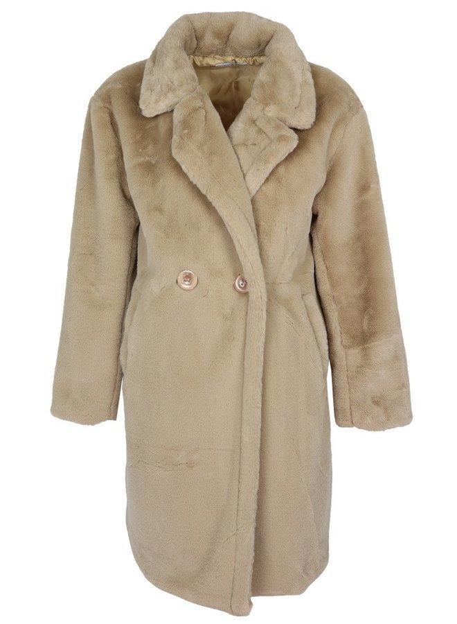 Zoe Teddy Coat Bruin