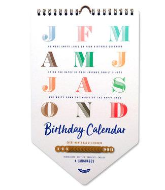 Stratier Happy Birthday Calendar