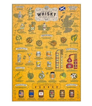 Ridley's Games Whisky Lover's Jigsaw Puzzle 500pcs