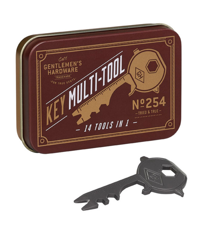 Gentlemen's Hardware Key Multi-Tool - 14 in 1
