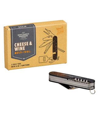 Gentlemen's Hardware Cheese and Wine Multi Tool