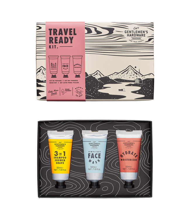 Gentlemen's Hardware Travel Ready Kit 2.0