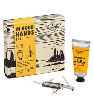 Gentlemen's Hardware In Good Hands Kit