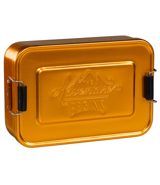 Gentlemen's Hardware Alluminium Lunch box gold