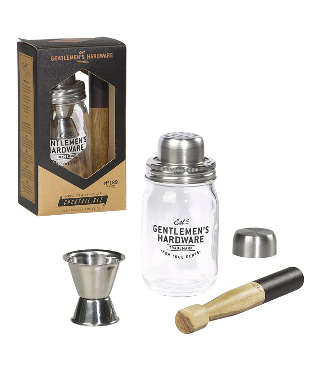 Gentlemen's Hardware Retro Cocktail Set