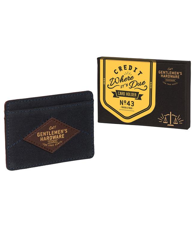 Gentlemen's Hardware Kaart Houder Gentlemen's Hardware