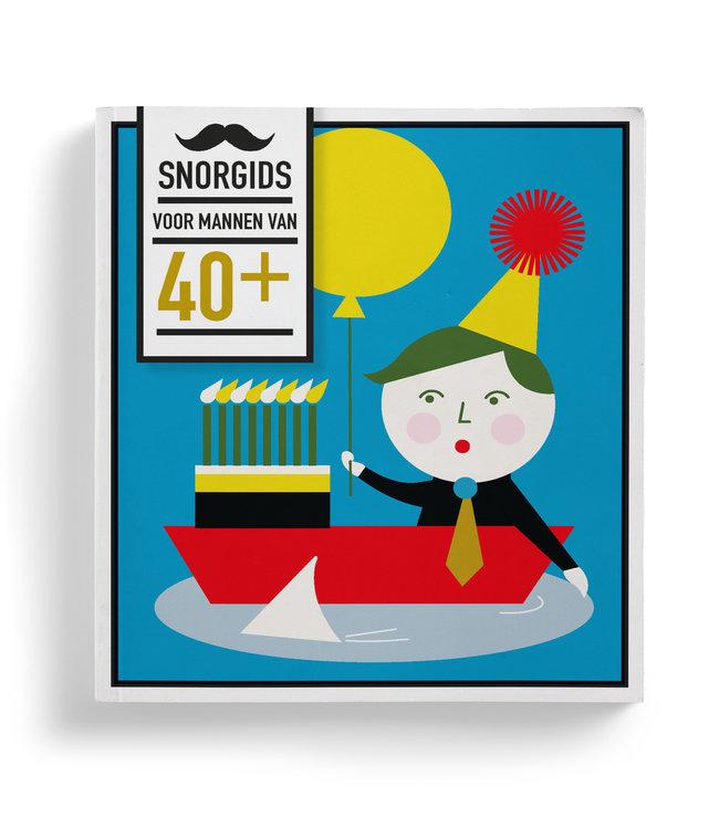 Uitgeverij Snor Snorgids voor mannen van 40+