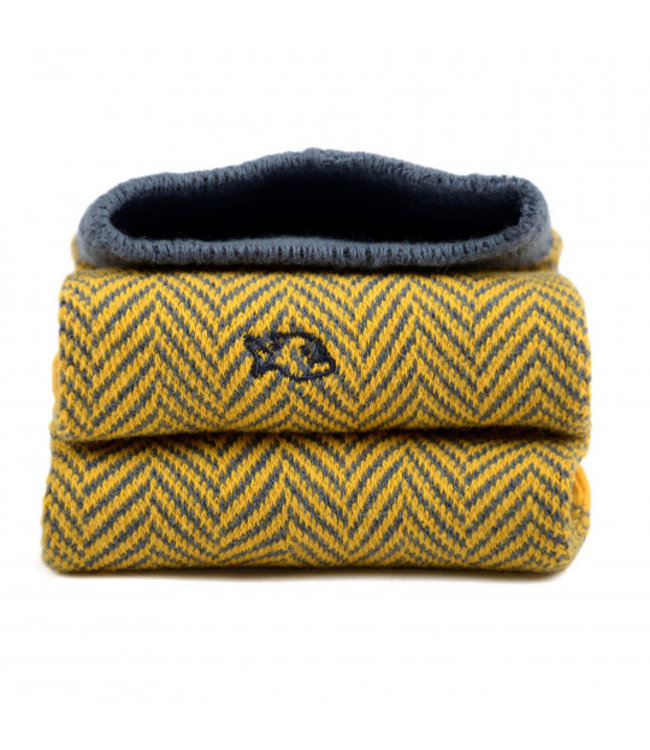 Billybelt Billy Belt Katoenen sokken Yellow Herringbone 41 - 46