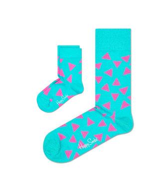 Eenmannenkado Zo Vader Zo Zoon/Dochter sokken Pink Triangles