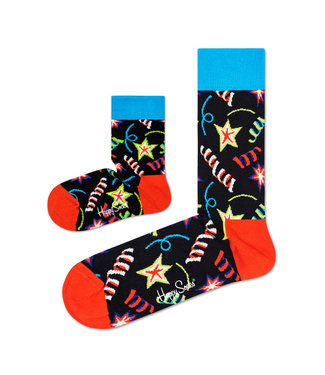 Eenmannenkado Zo Vader Zo Zoon/Dochter sokken Party Sparkle