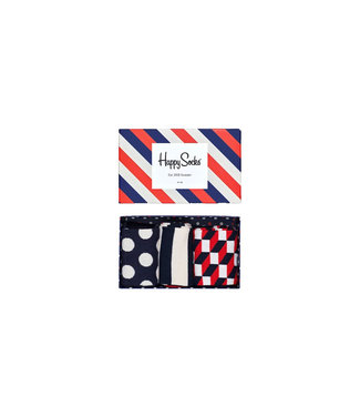 Happy Socks Happy Socks Classic Stripe Giftbox - 41-46