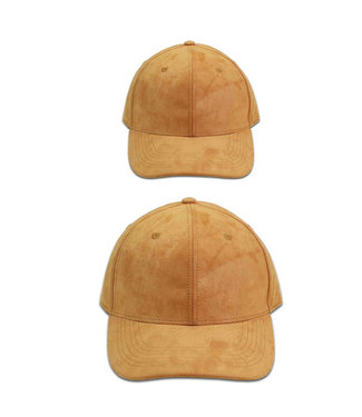 TFPR & Co Matching Snapbacks Suede Tan