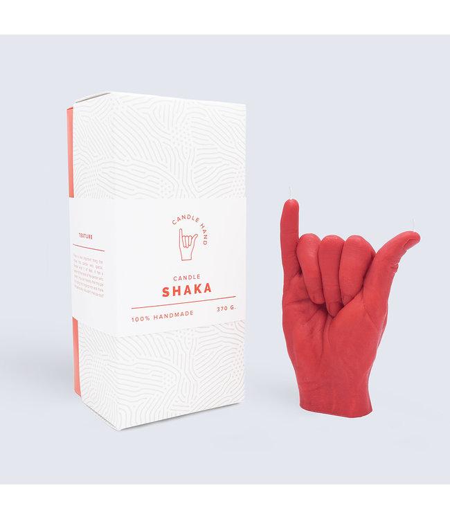 CandleHand CandleHand - Shaka - rood