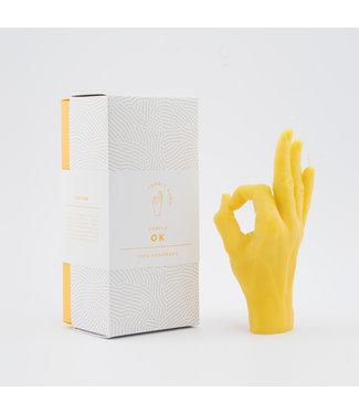 CandleHand CandleHand - OK - geel