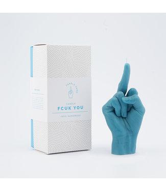 CandleHand CandleHand - F*ck you - blauw