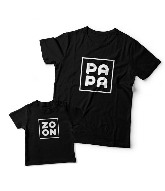 Kletskont Matching shirts Vader & Zoon | Zoon & Papa
