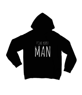 Kletskont Fijne kerst man (kids) hoodie