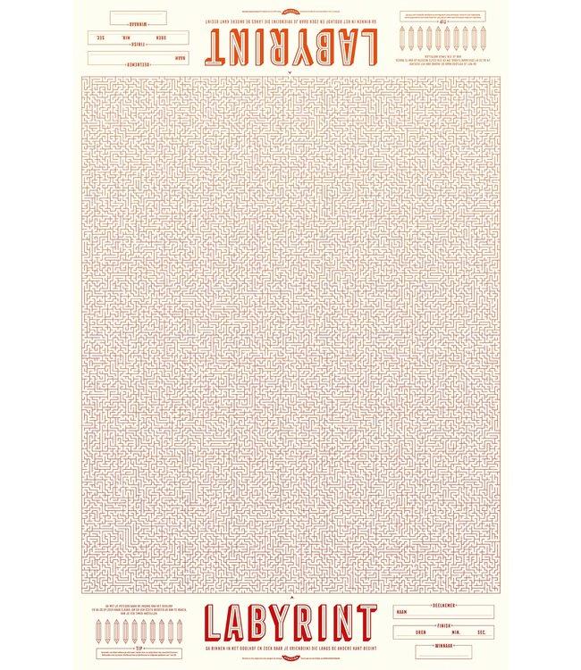 Stratier XL-LABYRINT 2X | 100 x 65 cm