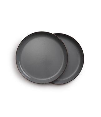 Barebones Enamel Plate/Bord, 30 cm - Set van 2