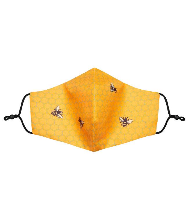 Jimmy Lion Mondmasker (verstelbaar) - Bees