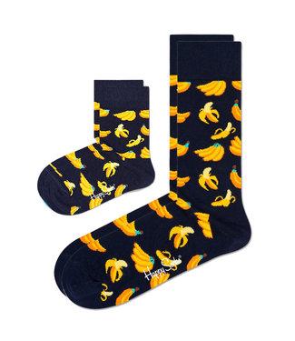 Eenmannenkado Zo Vader Zo Zoon/Dochter sokken Banana's