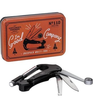 Gentlemen's Hardware Retro Backpack Multi Tool