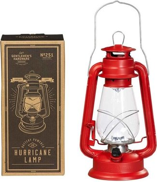 Gentlemen's Hardware Retro Hurricane Lamp