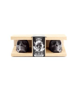 Skulls Skulls houtskool Briketten giftbox (Doodskop briketten 3 stuks)