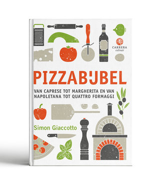 Carrera Culinair Pizzabijbel - Simon Giaccotto
