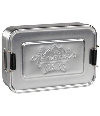 Gentlemen's Hardware Alluminium Lunch box silver