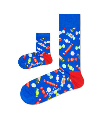 Eenmannenkado Zo Vader Zo Zoon/Dochter sokken Candy