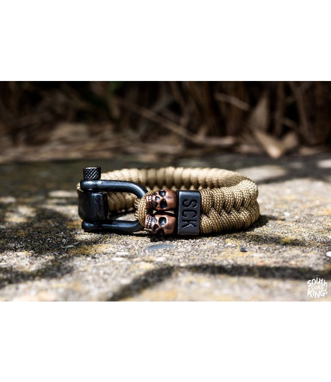 South Cord Kings Armband Khaki Mummy - XL