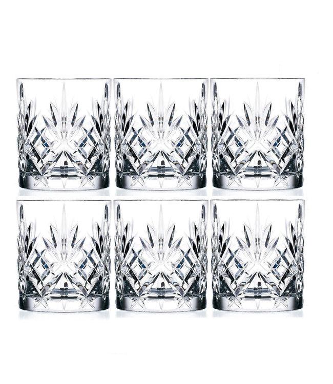 RCR Cristalleria Italiana Tumbler Whiskyglazen 6 stuks