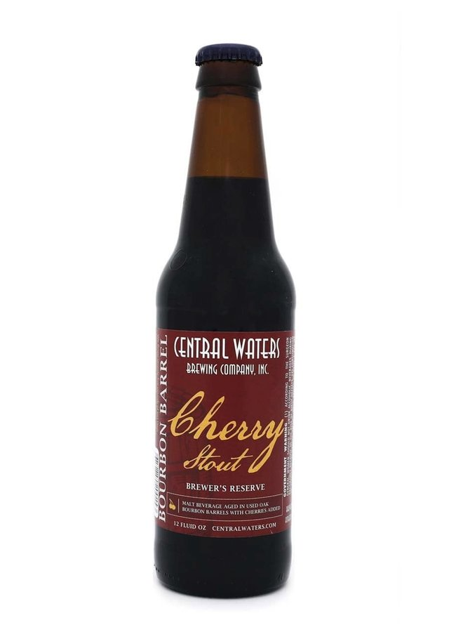 Central Waters Brewer's Reserve Bourbon Barrel Cherry Stout (2019)