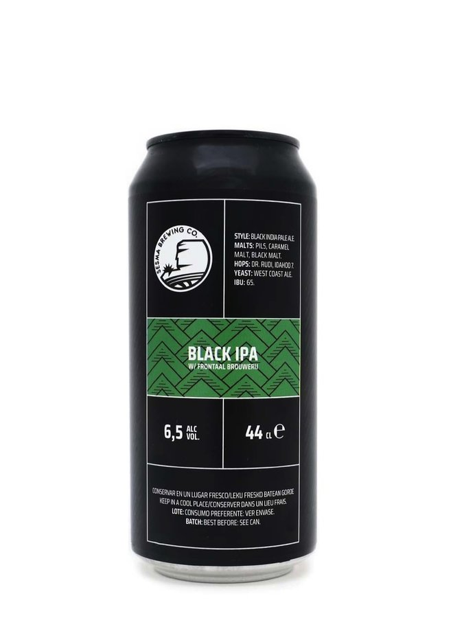 Sesma x Frontaal Black IPA