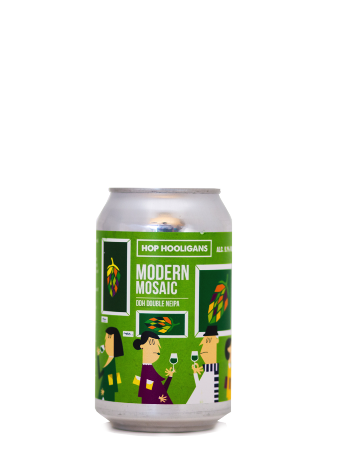 Hop Hooligans Modern Mosaic Hop Hash Edition
