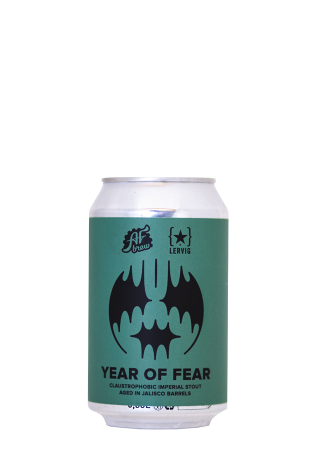 AF Brew x Lervig Year of Fear. Jalisco
