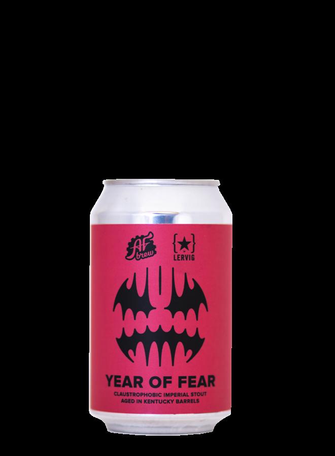 AF Brew Year of Fear. Kentucky