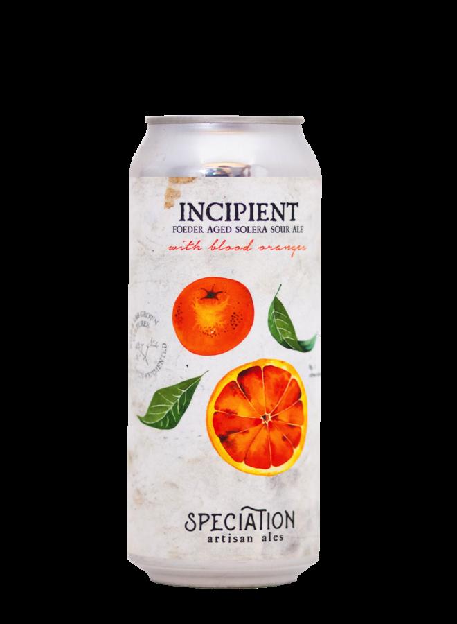 Speciation Artisan Ales Incipient (Blood Orange)