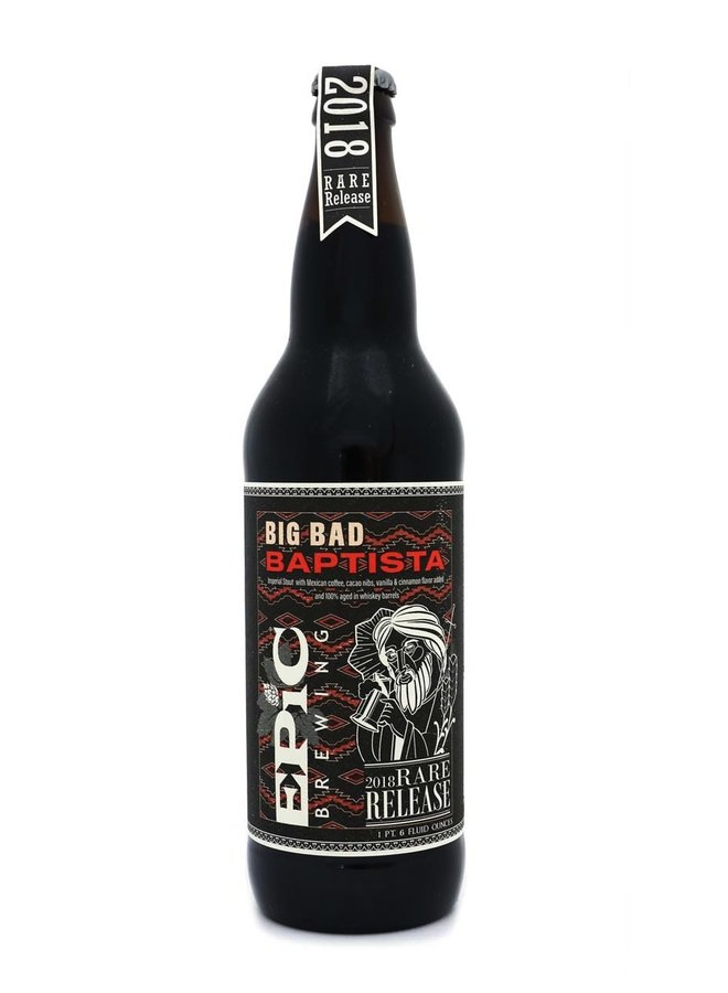 Epic Brewing Co. Big Bad Baptista (2018) (Release #13)