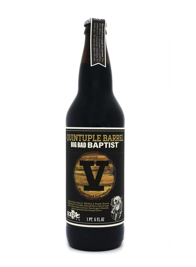 Epic Brewing Co. Quintuple Barrel Big Bad Baptist (2019) (Release #5)