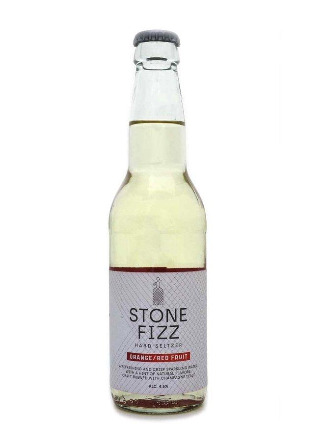 Stone Fizz Hard Seltzer Orange / Red Fruit