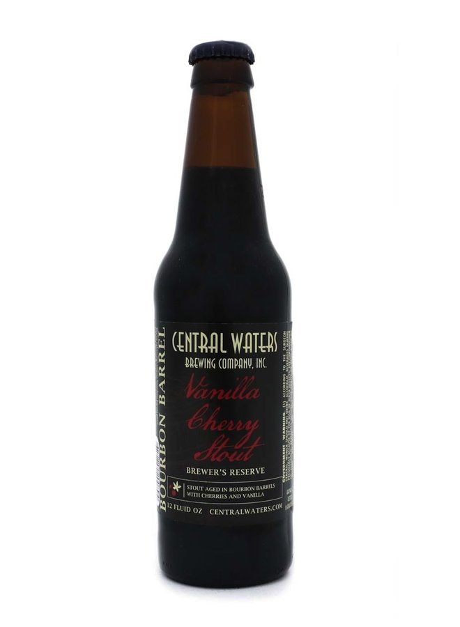 Central Waters Brewer's Reserve Vanilla Cherry Stout