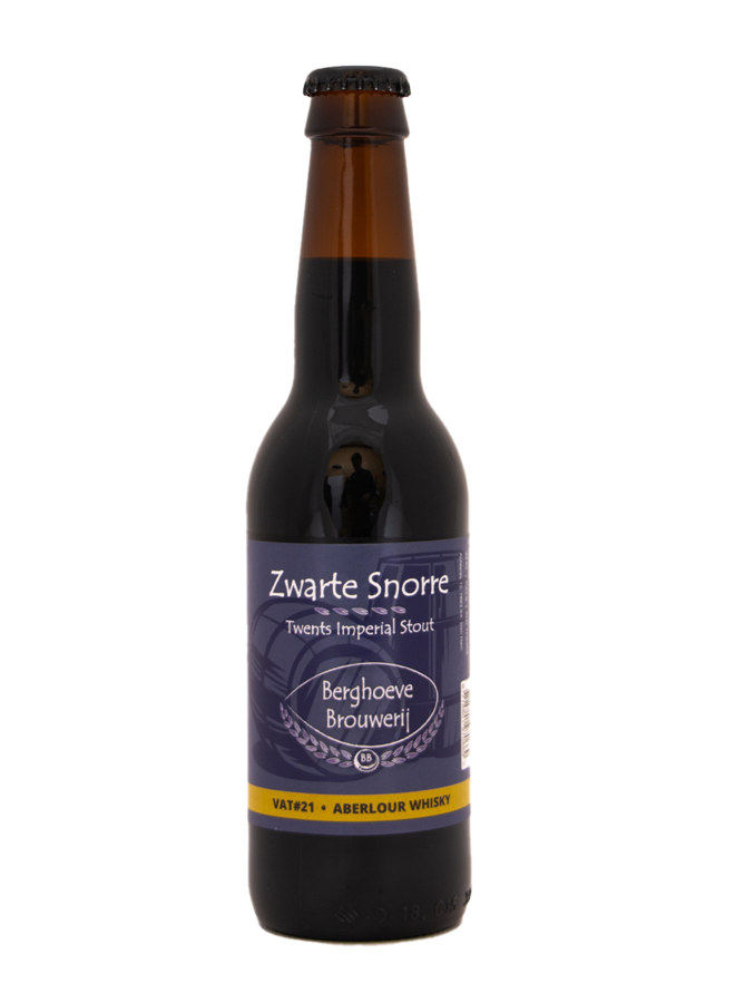 Berghoeve VAT#21 Zwarte Snorre Barrel Aged Aberlour Whisky