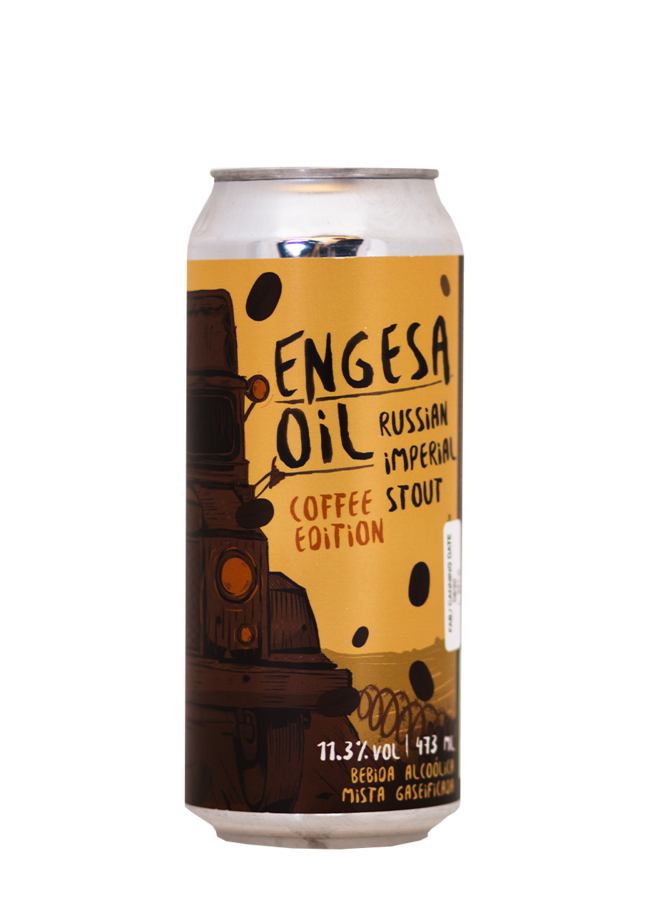 Salvador ENGESA Oil - Coffee Edition